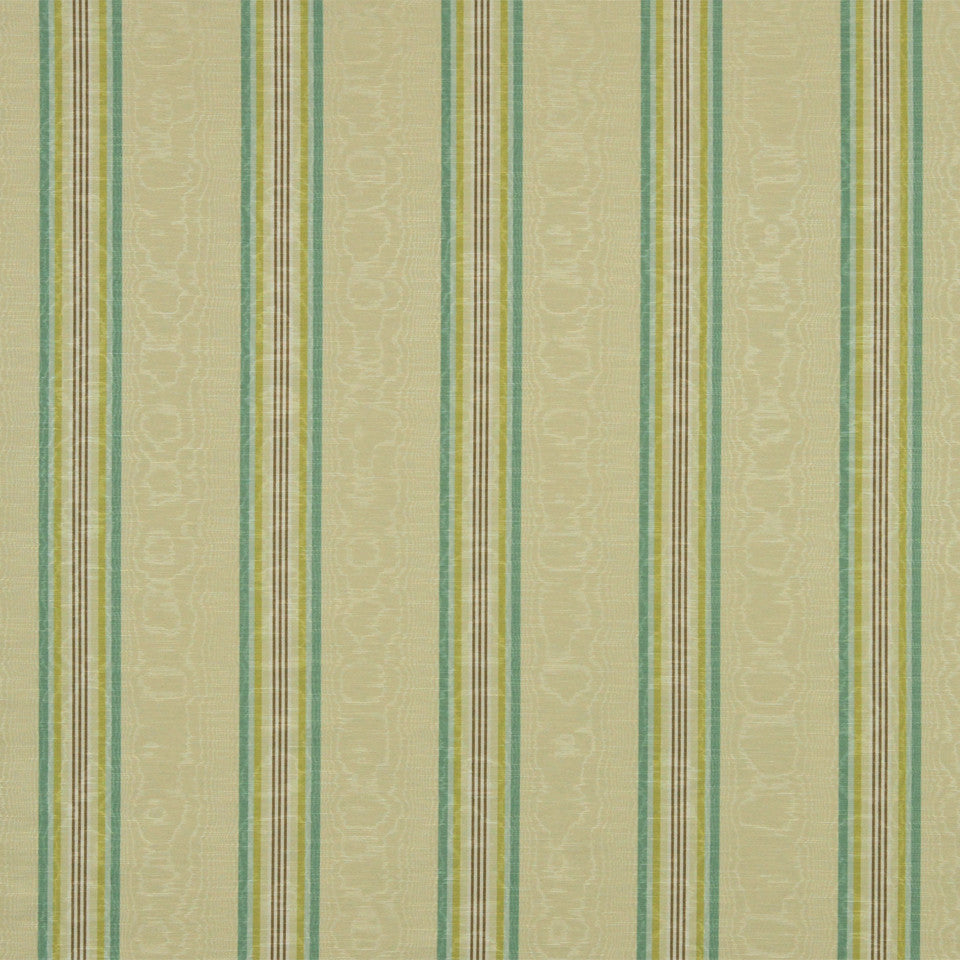 WILLIAMSBURG CLASSICS COLLECTION II Essex Stripe Fabric - Lagoon