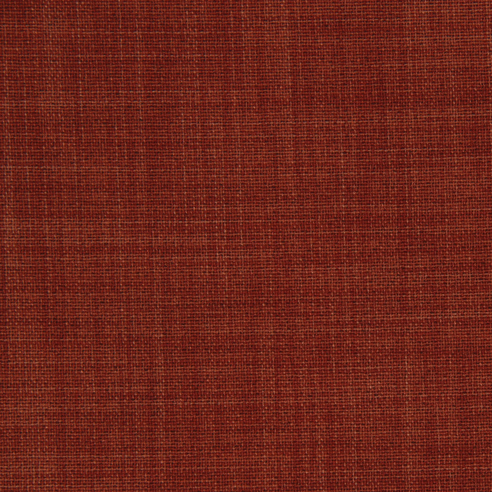 DECORATIVE DIM-OUT 97% BLACKOUT DRAPERY New Classic Fabric - Paprika