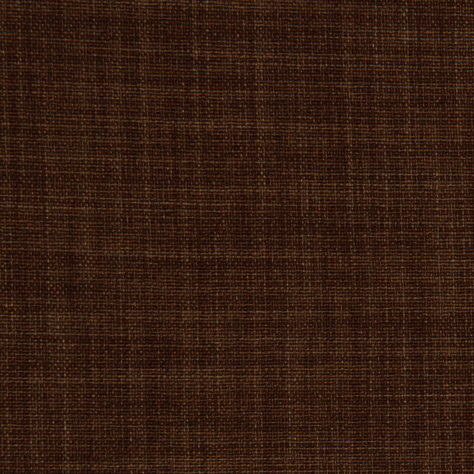 DECORATIVE DIM-OUT 97% BLACKOUT DRAPERY New Classic Fabric - Umber