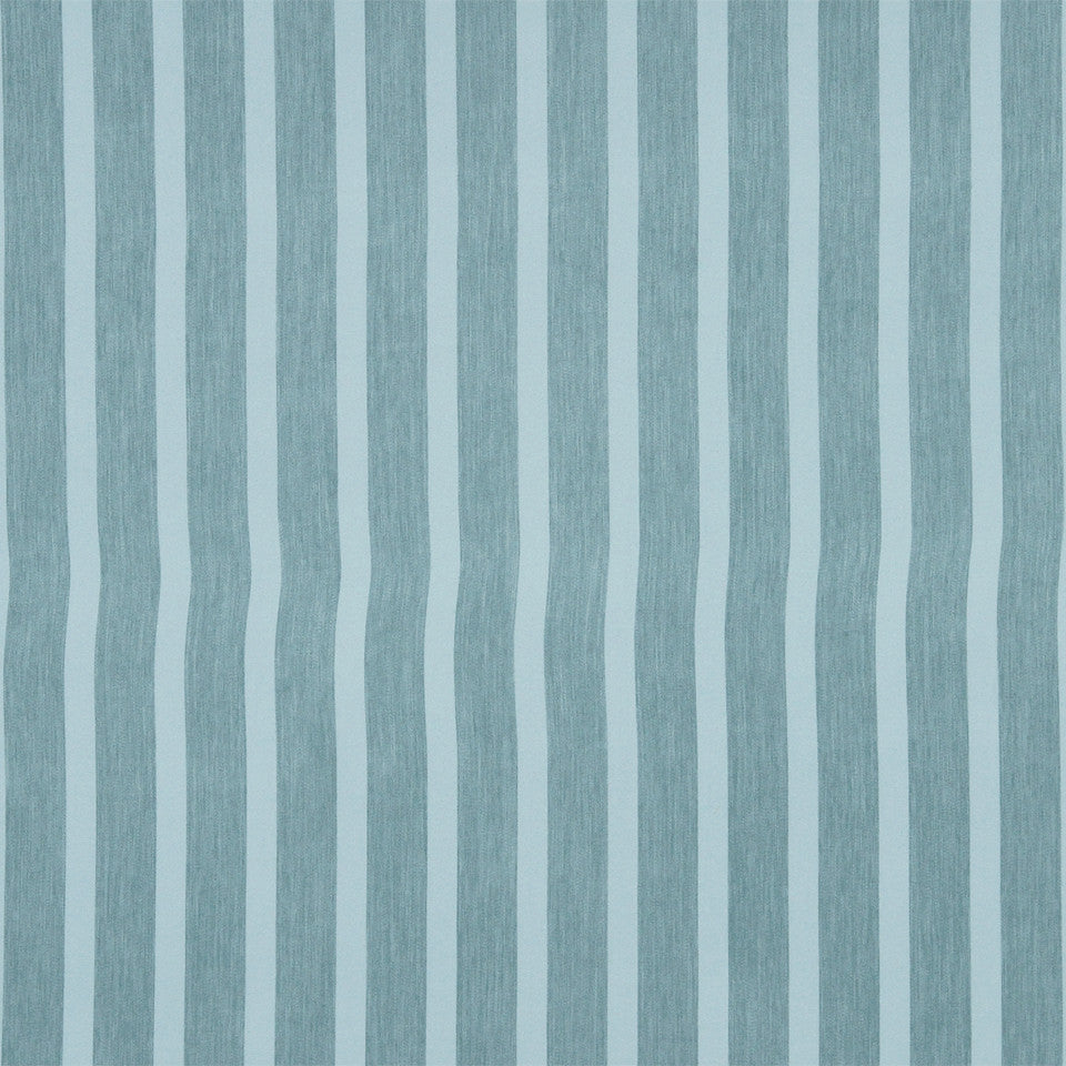DECORATIVE DIM-OUT 97% BLACKOUT DRAPERY Smooth Stripe Fabric - Tide