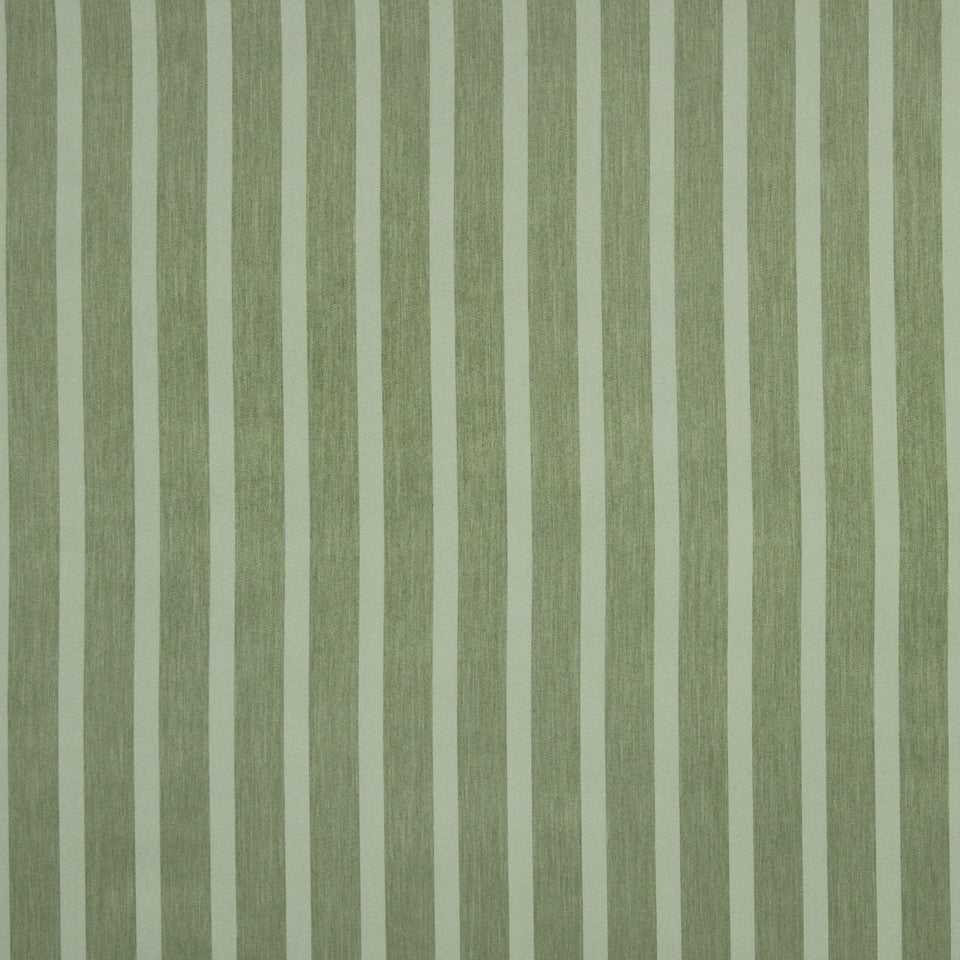 DECORATIVE DIM-OUT 97% BLACKOUT DRAPERY Smooth Stripe Fabric - Jade
