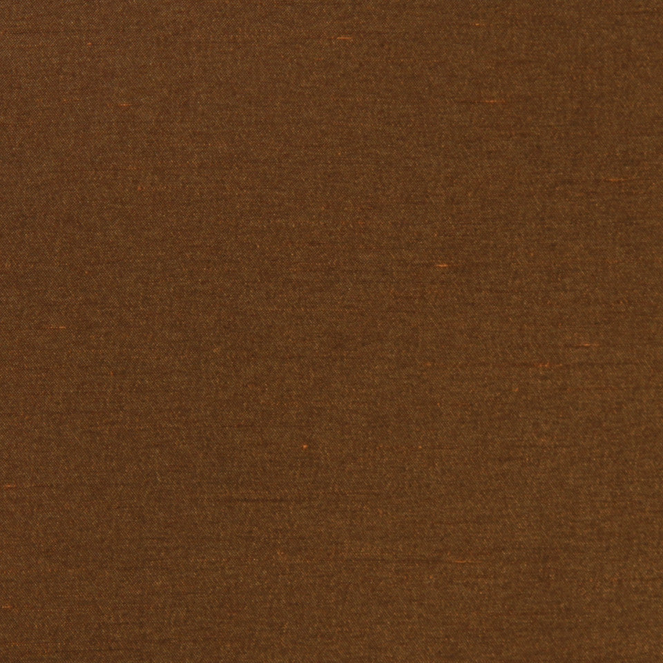 DECORATIVE DIM-OUT 97% BLACKOUT DRAPERY Luxurious Look Fabric - Nutmeg