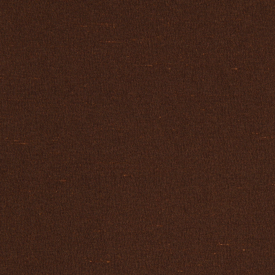 DECORATIVE DIM-OUT 97% BLACKOUT DRAPERY Luxurious Look Fabric - Umber