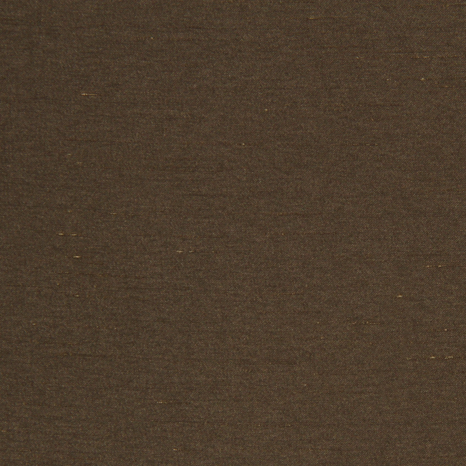 DECORATIVE DIM-OUT 97% BLACKOUT DRAPERY Luxurious Look Fabric - Cocoa