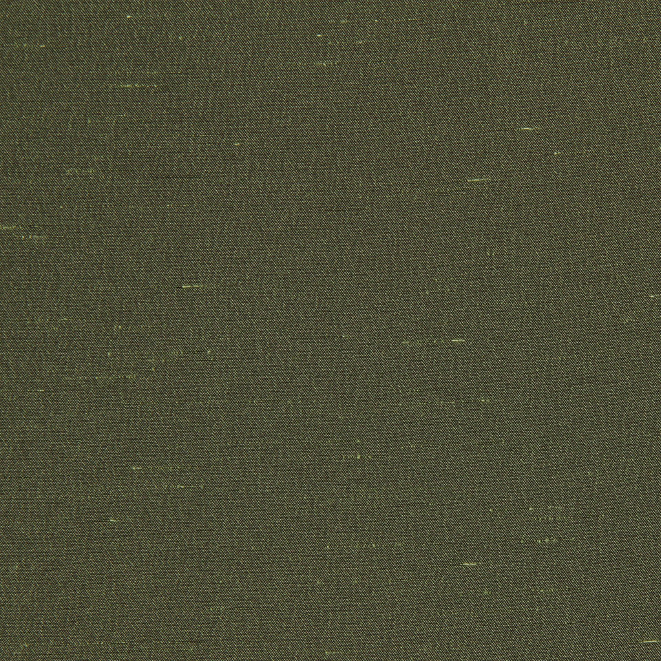 DECORATIVE DIM-OUT 97% BLACKOUT DRAPERY Luxurious Look Fabric - Olive