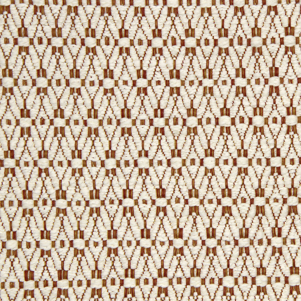 SIENNA-RED EARTH-GRAPHITE Longs Peak Fabric - Sienna