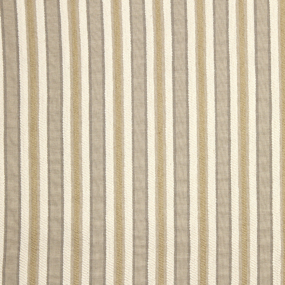 STRAW-TOAST-SADDLE Jackson Stripe Fabric - Straw