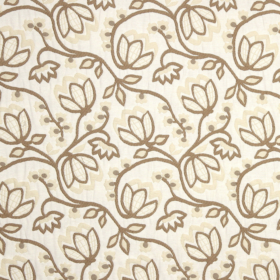 STRAW-TOAST-SADDLE Woodland Glory Fabric - Grain