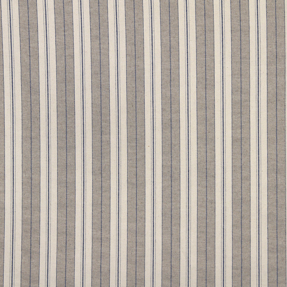 PALM-SEA-MINERAL Weston Stripe Fabric - Mineral