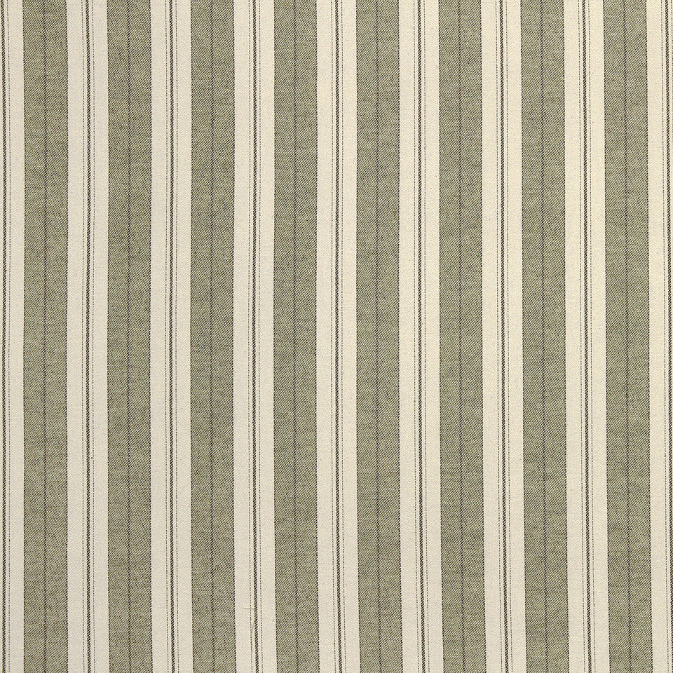 PALM-SEA-MINERAL Weston Stripe Fabric - Palm