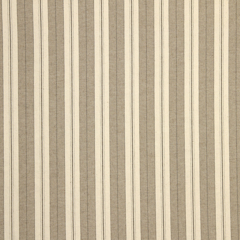 STRAW-TOAST-SADDLE Weston Stripe Fabric - Toast