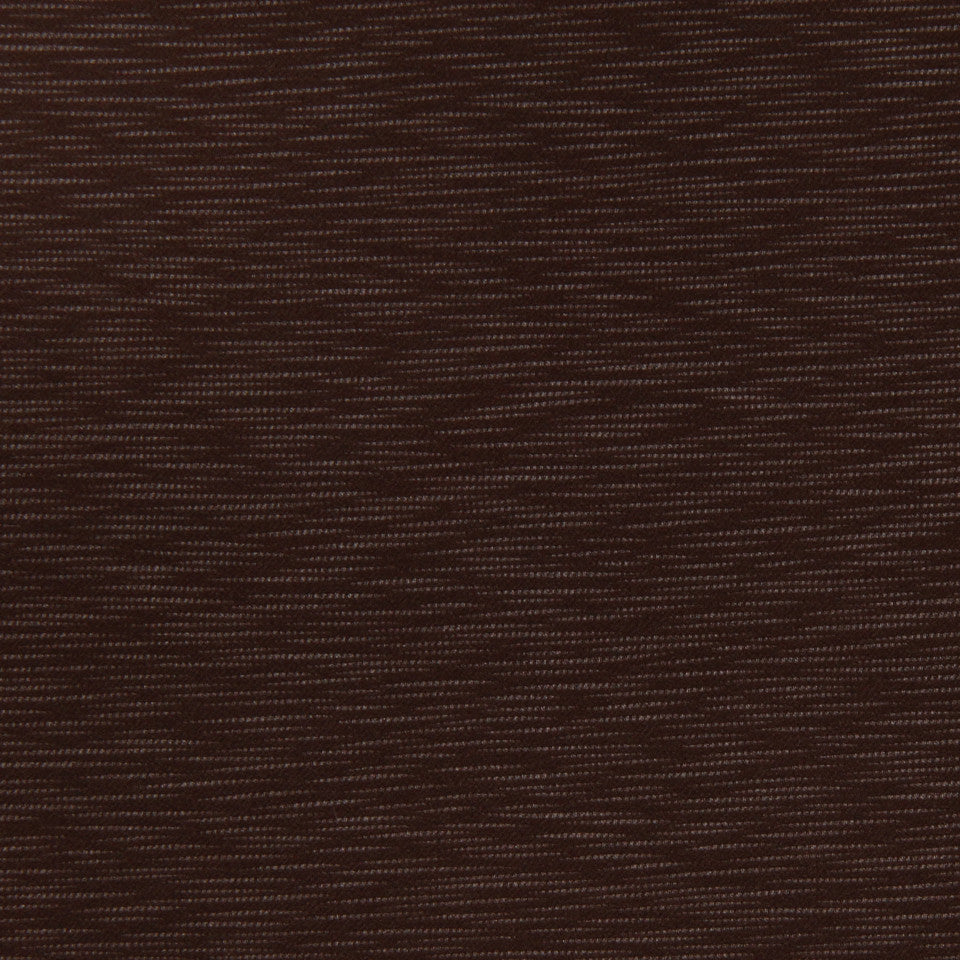 DECORATIVE DIM-OUT 97% BLACKOUT DRAPERY Calm Waters Fabric - Chocolate