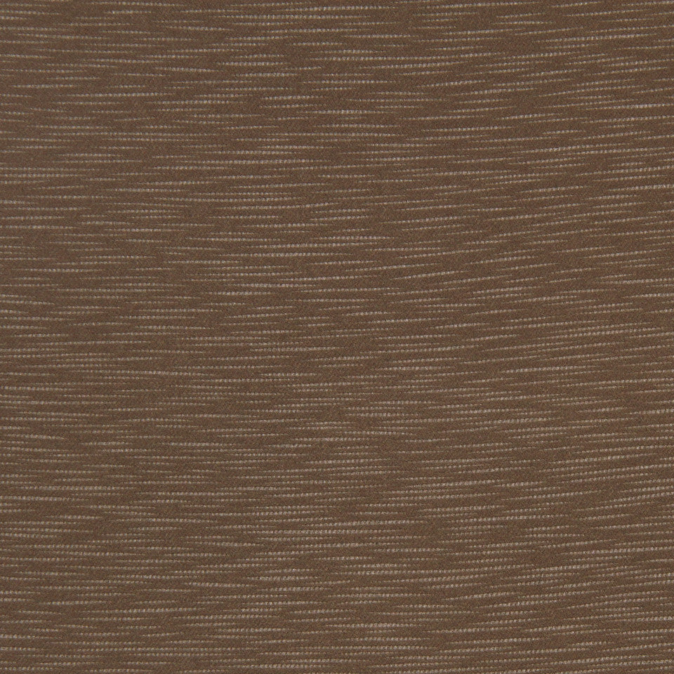 DECORATIVE DIM-OUT 97% BLACKOUT DRAPERY Calm Waters Fabric - Cocoa