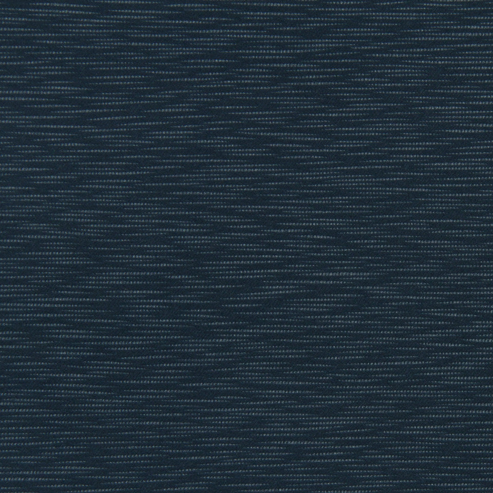 DECORATIVE DIM-OUT 97% BLACKOUT DRAPERY Calm Waters Fabric - Midnight