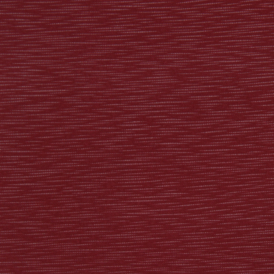 DECORATIVE DIM-OUT 97% BLACKOUT DRAPERY Calm Waters Fabric - Pomegranate