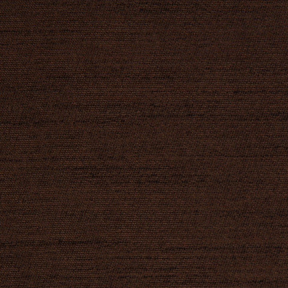 DECORATIVE DIM-OUT 97% BLACKOUT DRAPERY Solid Shine Fabric - Chocolate