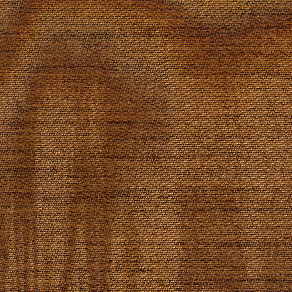 DECORATIVE DIM-OUT 97% BLACKOUT DRAPERY Solid Shine Fabric - Nutmeg