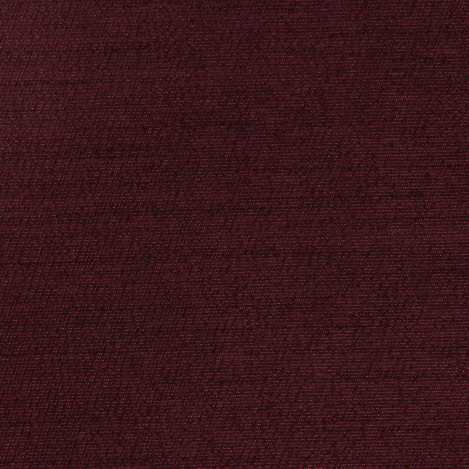 DECORATIVE DIM-OUT 97% BLACKOUT DRAPERY Solid Shine Fabric - Sangria