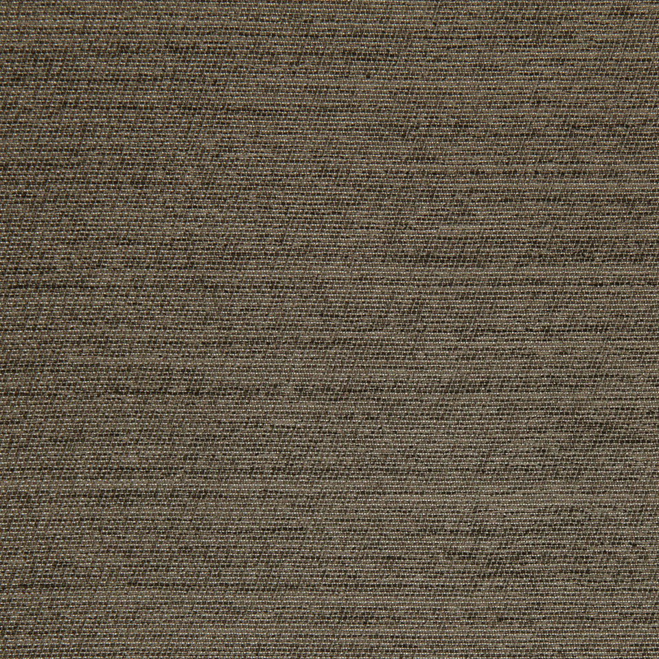 DECORATIVE DIM-OUT 97% BLACKOUT DRAPERY Solid Shine Fabric - Umber