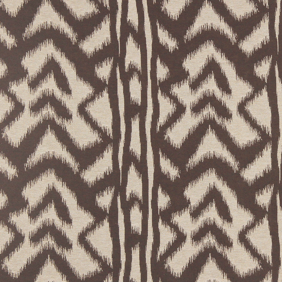 STRAW-TOAST-SADDLE Boulder Ikat Fabric - Mink