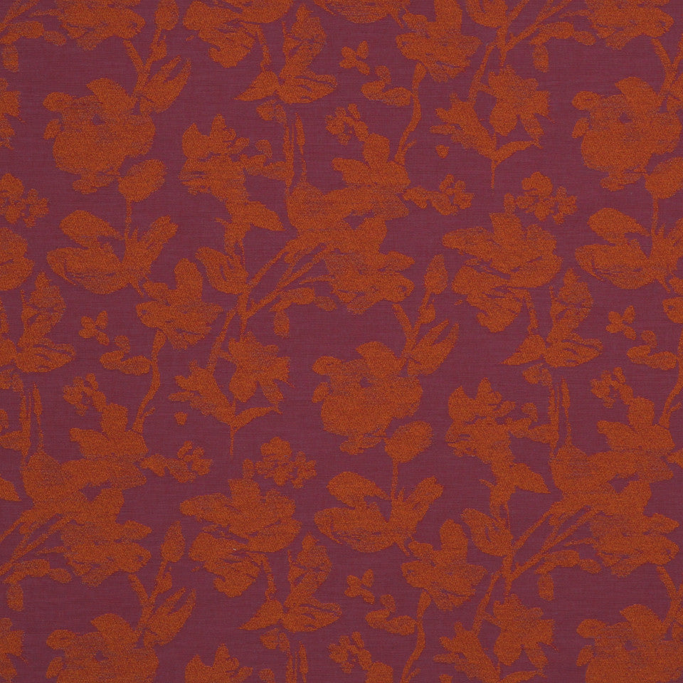 LARRY LASLO GEMSTONE Imprint Isle Fabric - Cerise