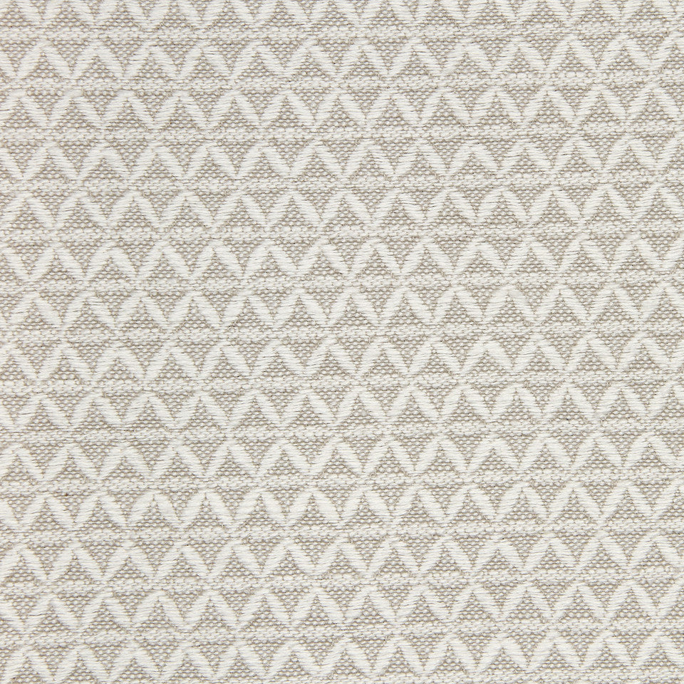 GLACIER Diamond Askew Fabric - Pearl