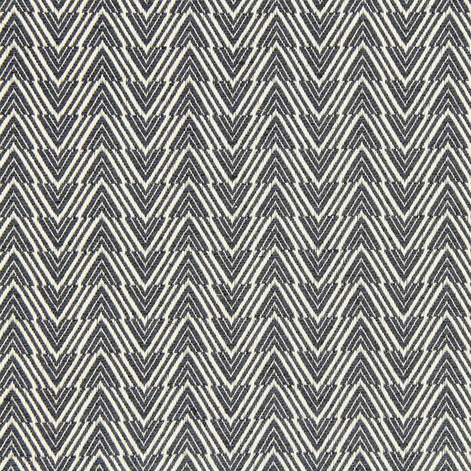 PALM-SEA-MINERAL Zig Illusion Fabric - Mineral