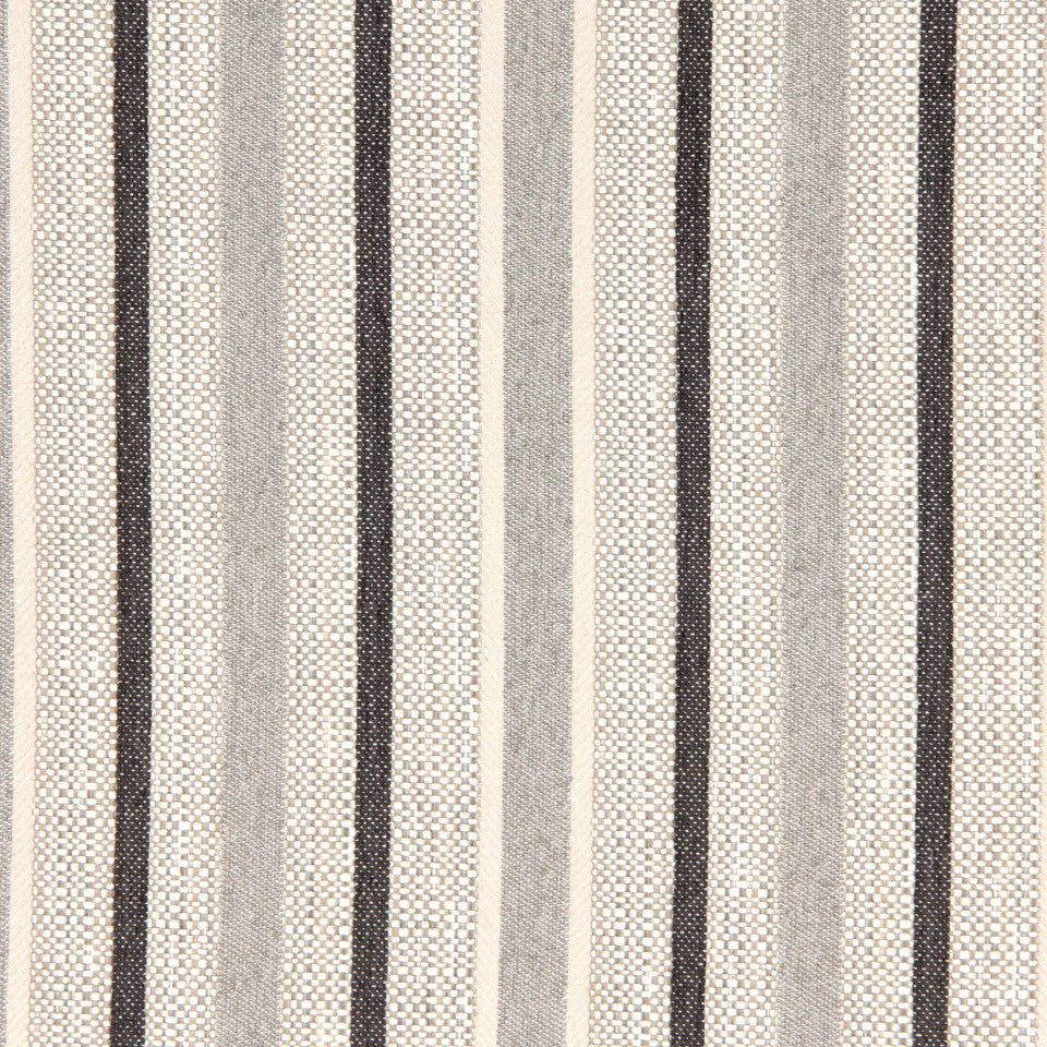 SIENNA-RED EARTH-GRAPHITE Sweeny Fabric - Black