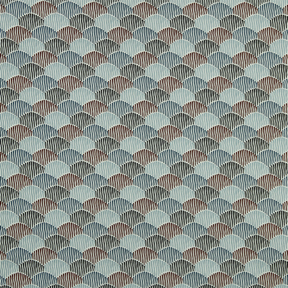 DWELLSTUDIO MODERN COLOR THEORY Ludlow Fabric - Copper