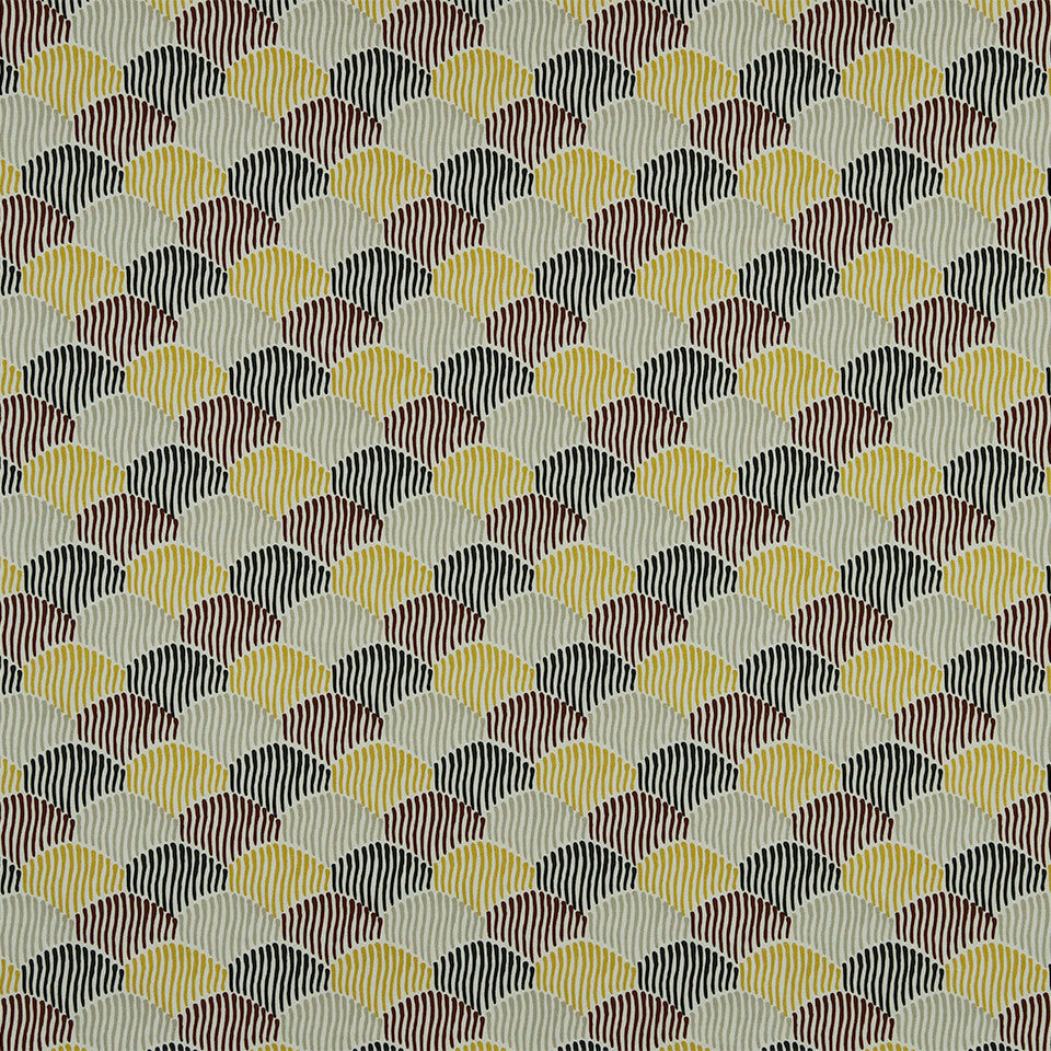 DWELLSTUDIO MODERN COLOR THEORY Ludlow Fabric - Citrine