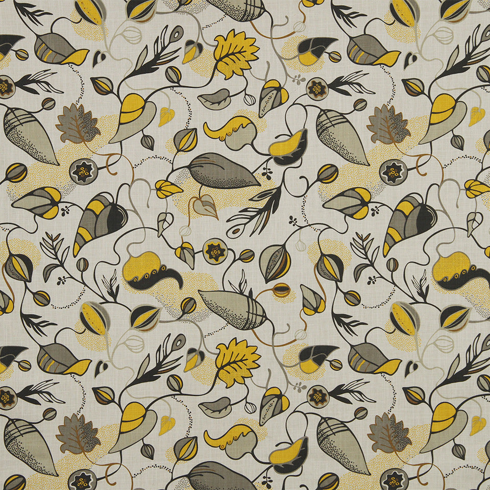 DWELLSTUDIO MODERN COLOR THEORY Magnus Fabric - Citrine