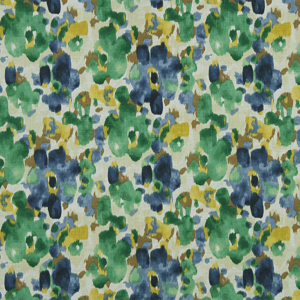 DWELLSTUDIO MODERN COLOR THEORY Landsmeer Fabric - Ultramarine