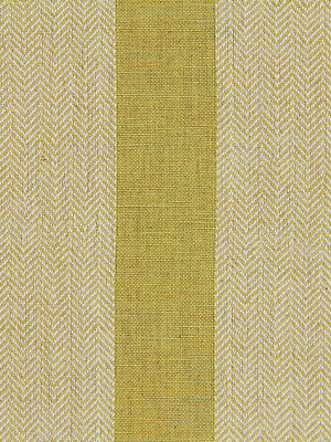 WIDE STRIPES Masala Stripe Fabric - Chartreuse
