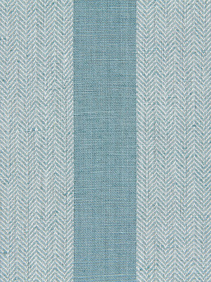 WIDE STRIPES Masala Stripe Fabric - Lagoon