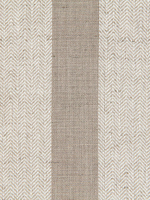 WIDE STRIPES Masala Stripe Fabric - Linen