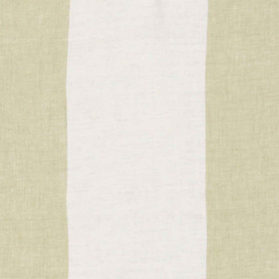 WIDE STRIPES Horizon Stripe Fabric - Chartreuse