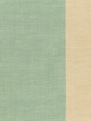 WIDE STRIPES Jasmine Stripe Fabric - Lagoon