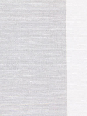 WIDE STRIPES Jasmine Stripe Fabric - Silver