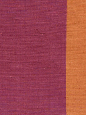 WIDE STRIPES Jasmine Stripe Fabric - Magenta Red