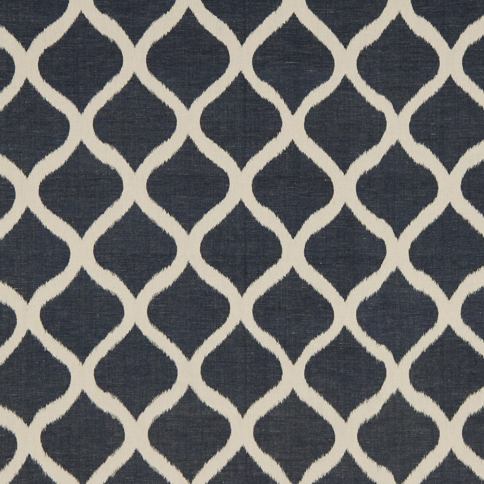 IKATS AND SUZANIS Biju Ikat Fabric - Indigo