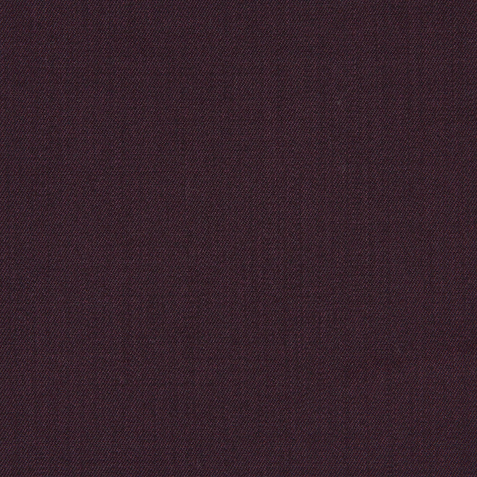 WOOL TEXTURES Wool Twill Fabric - Aubergine