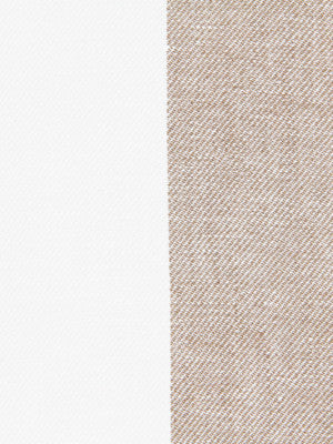 WIDE STRIPES Divya Stripe Fabric - Linen