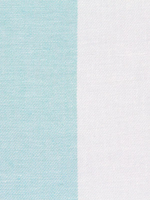 WIDE STRIPES Divya Stripe Fabric - Lagoon