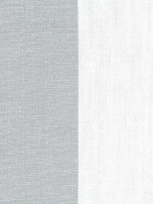 WIDE STRIPES Panel Stripe Fabric - Silver