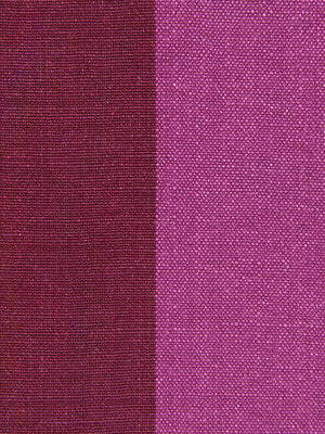WIDE STRIPES Panel Stripe Fabric - Magenta Red