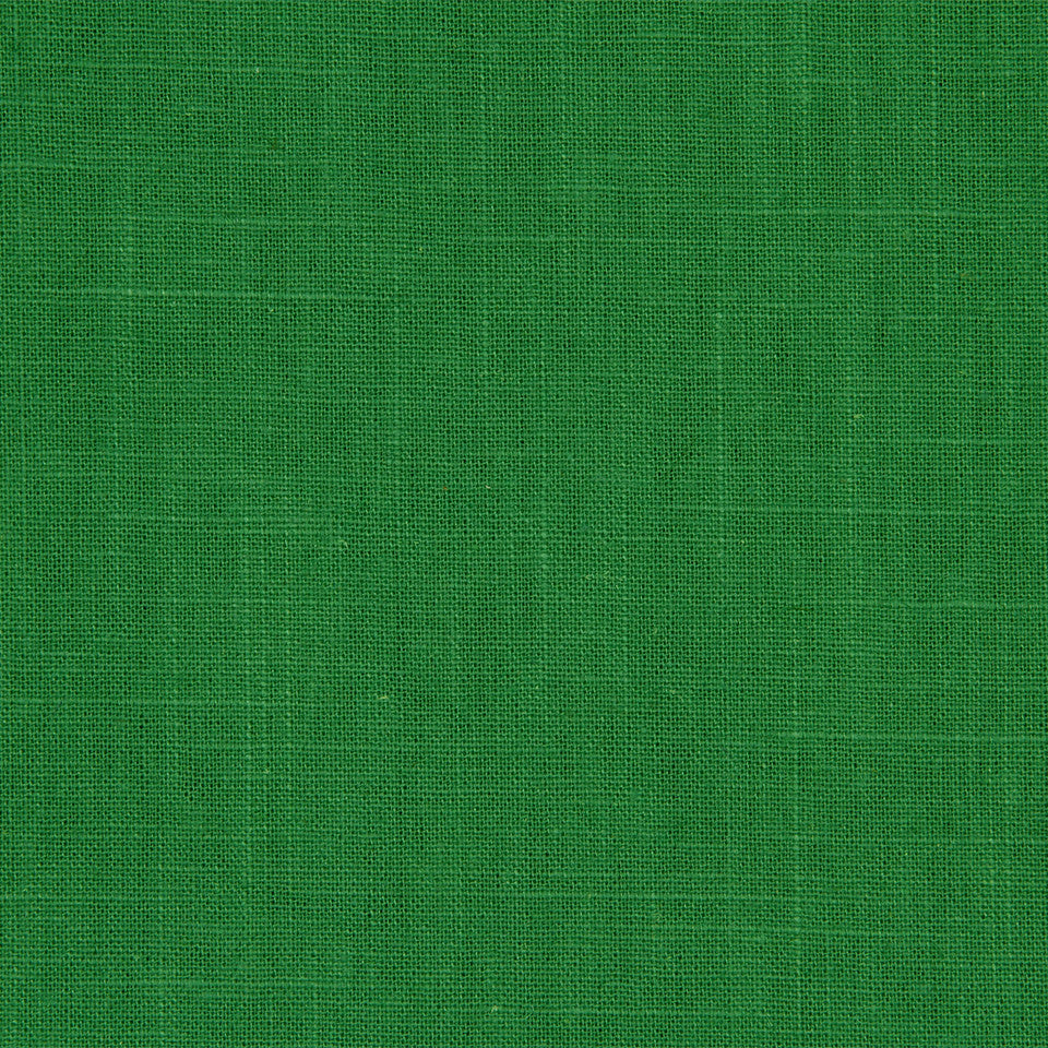 Linen Slub Fabric - Malachite