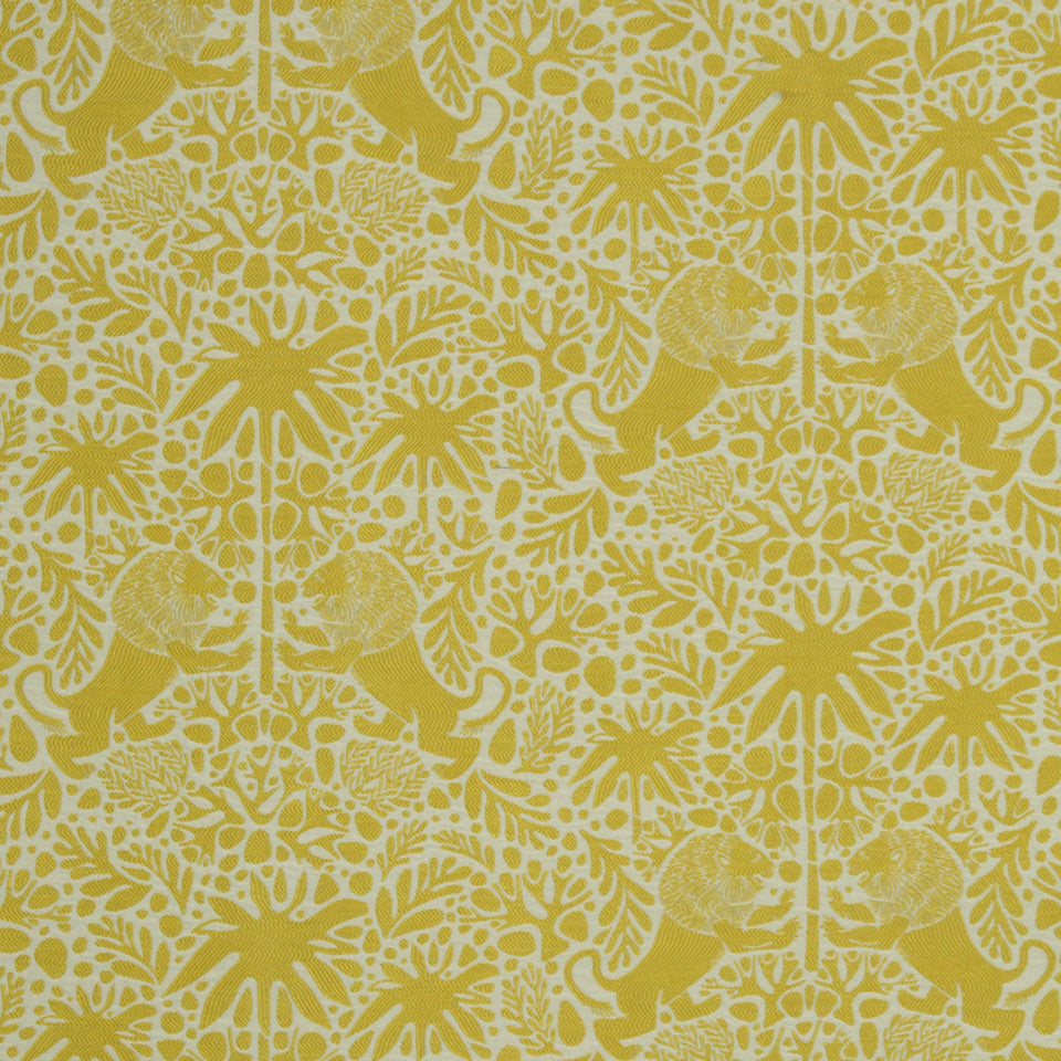 DWELLSTUDIO MODERN COLOR THEORY Kings Walk Fabric - Citrine