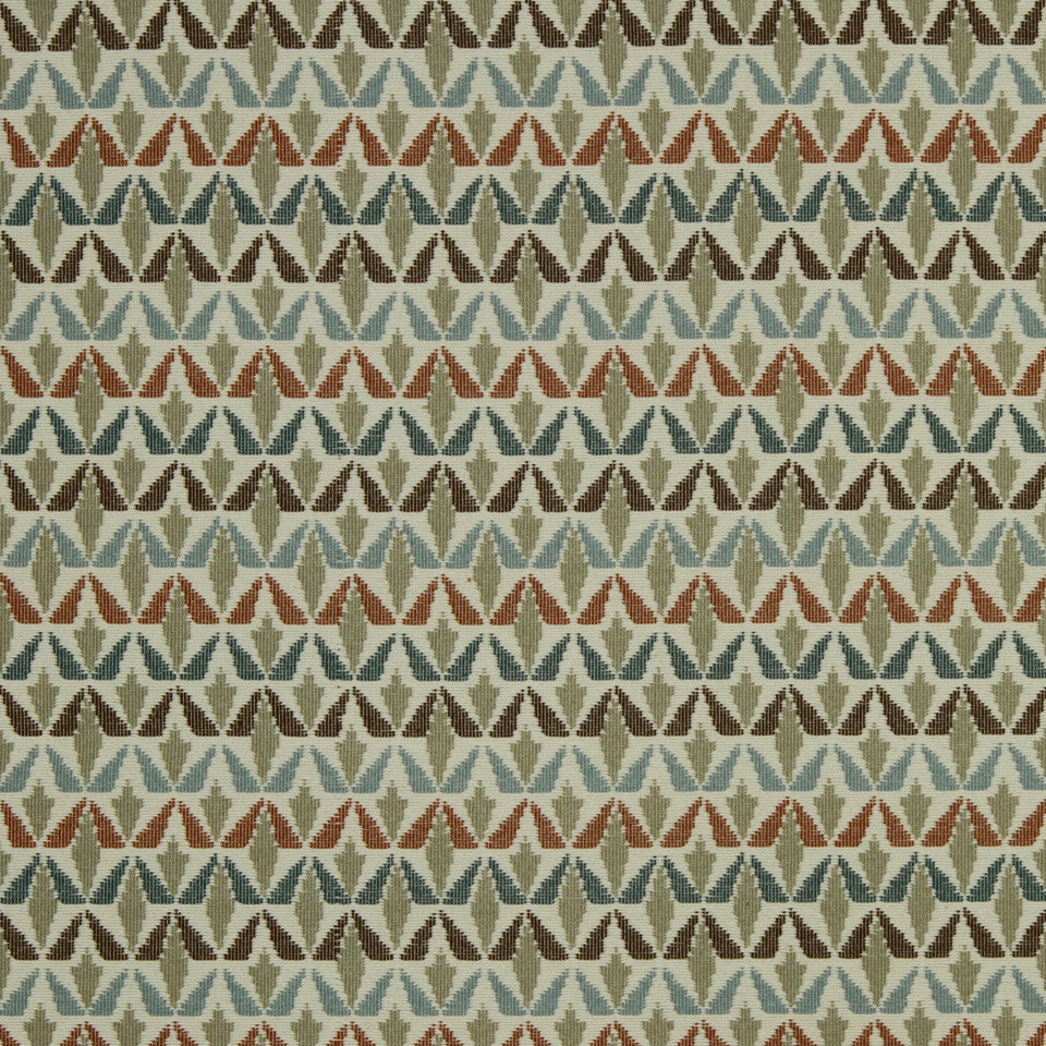 DWELLSTUDIO MODERN COLOR THEORY Grassland Fabric - Copper