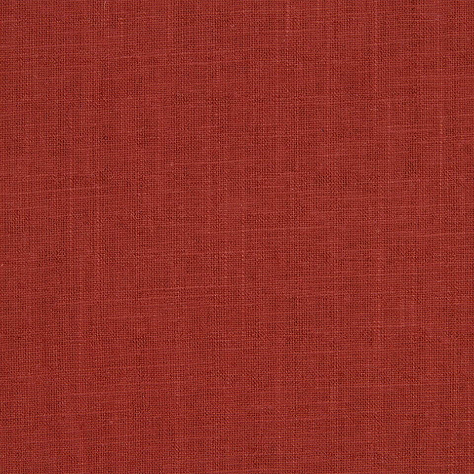 Linen Slub Fabric - Poppy