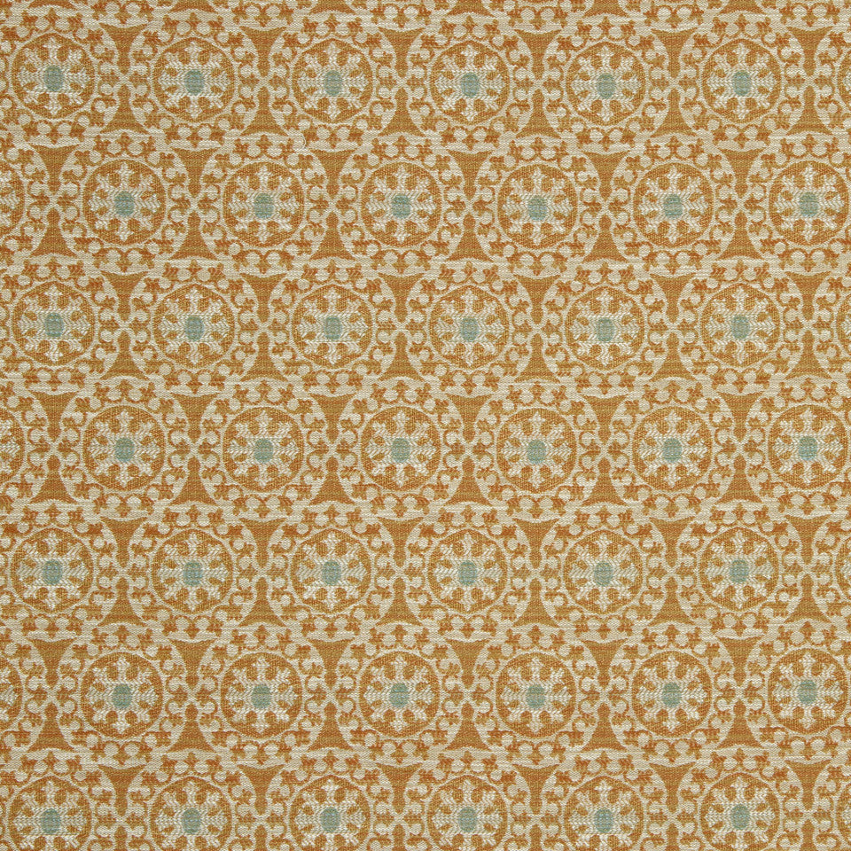 SUNRISE Sundial Day Fabric - Sunrise